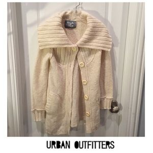 Urban Outfitters Kimchi & Blue Cream Cardigan